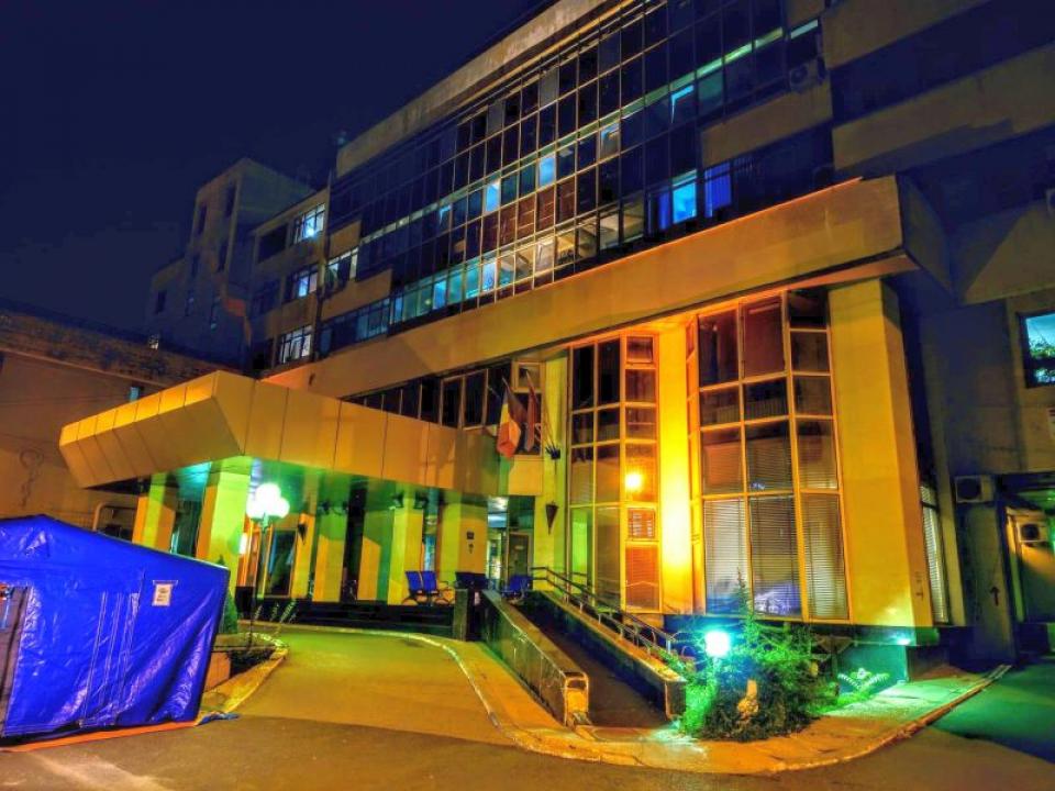 Spitalul Dimitrie Gerota. Foto: Facebook / pagina spitalului
