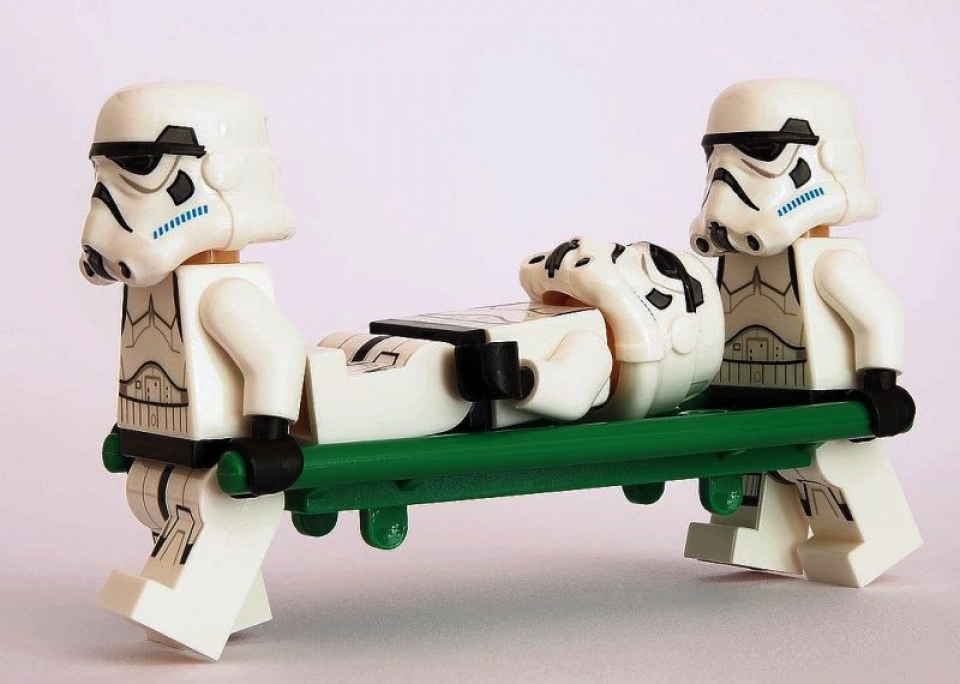 "Soldații - clone ""stormtroopers"" din Războiul Stelelor. Foto: Pixabay"