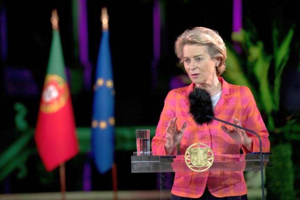 Ursula von der Leyen. Foto: Facebook / Comisia Europeană / Etienne Ansotte