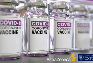 Vaccinul produs de AstraZeneca și Oxford, rezultate bune. Foto: AstraZeneca