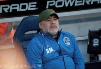 Maradona. Foto: Agerpres/EPA