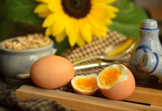 Ouă fierte. Foto: Pixabay