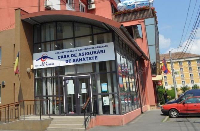Cas Județeană de Sănătate Bistrița - Năsăud. Foto: TimpOnline.ro