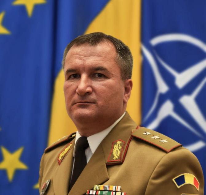 General - locotenent Daniel Petrescu. Foto: MApN