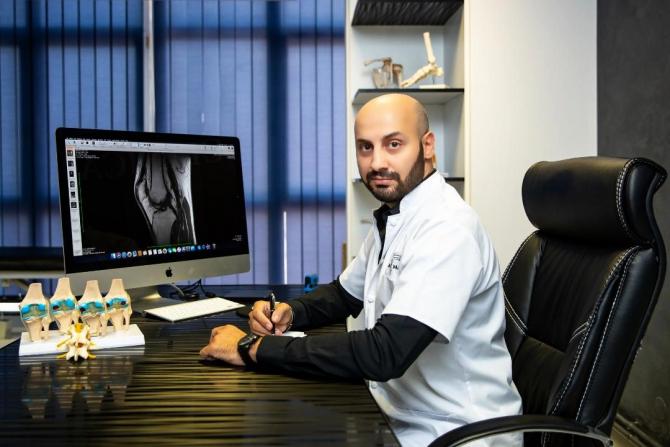 Dr. Tarek Nazer, medic specialist Traumatologie și Ortopedie