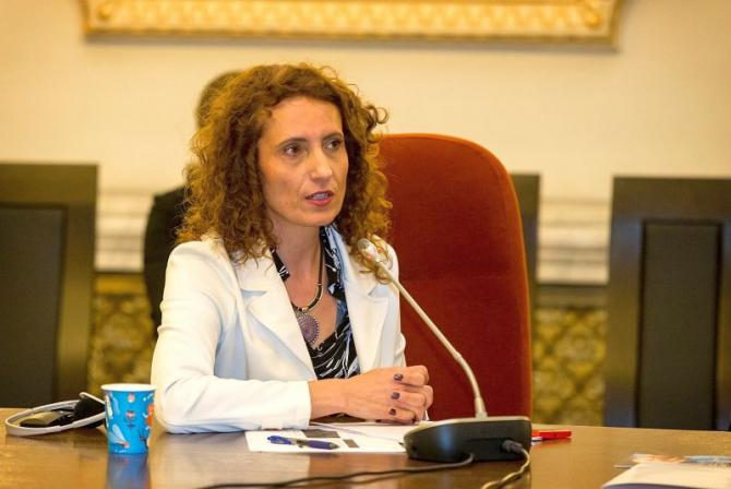 Miljana GRBIC. Foto: Facebook / WHO Romania