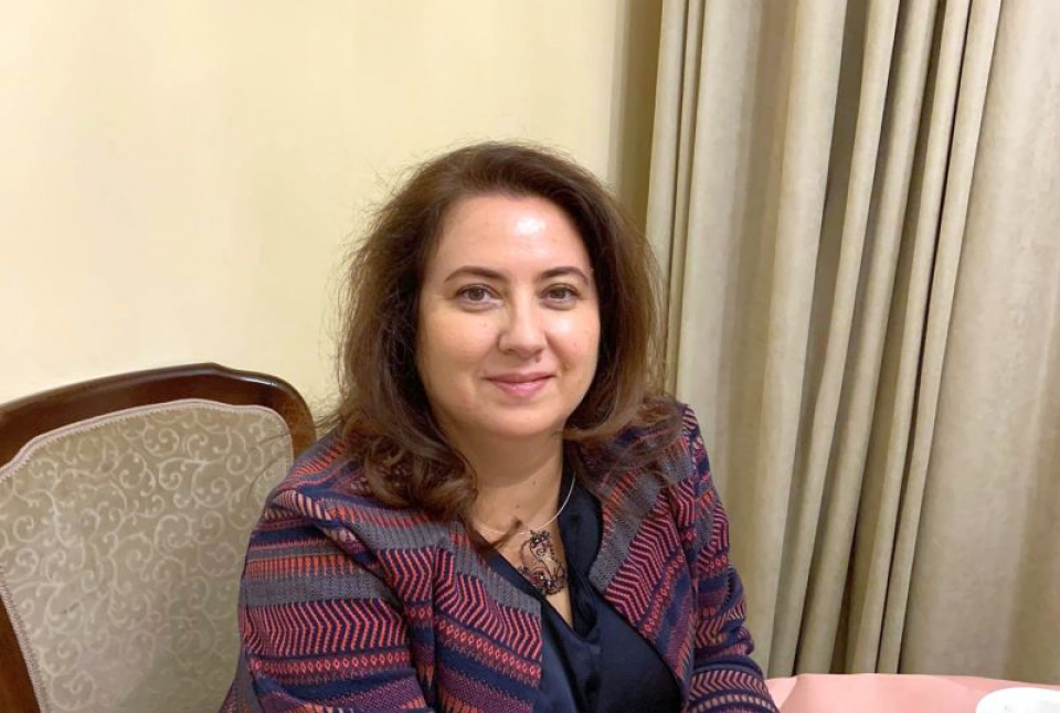 Dr Cezarina Matei. Foto: Facebook