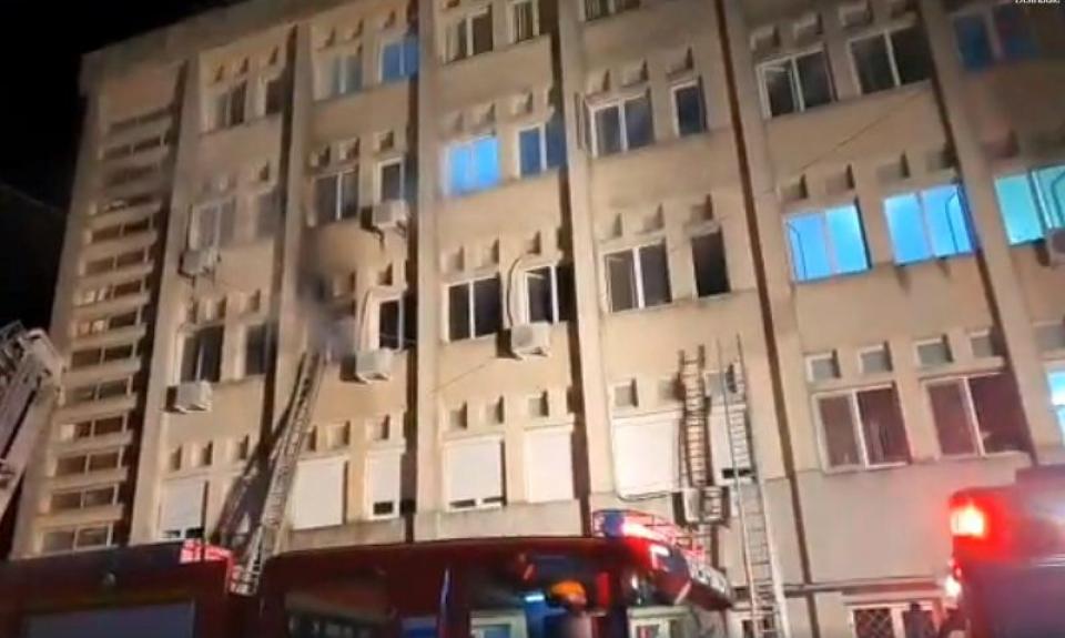 Incendiu SJU Piatra Neamț
