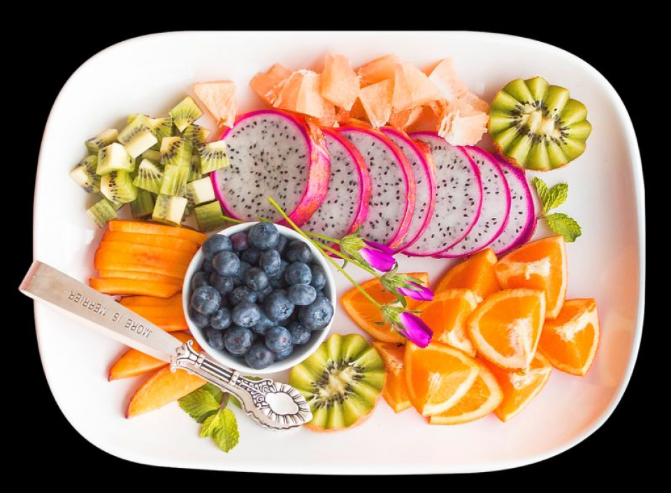 Platou cu fructe. Foto: Pixabay