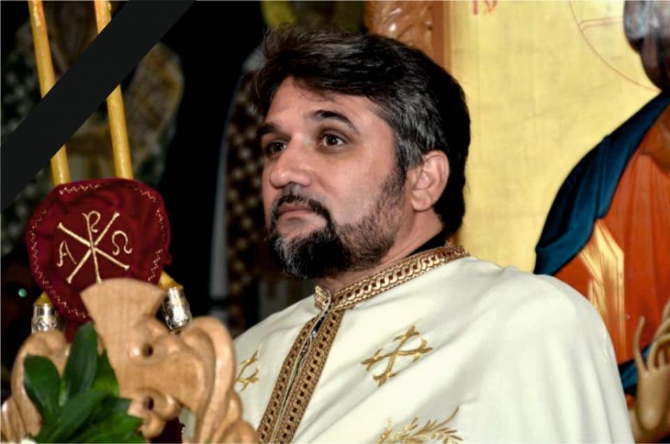 Preotul Adrian-Claudiu Căpitănescu a fost răpus de COVID-19    Foto: Epsicopia Severinului