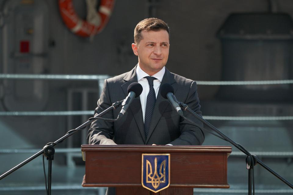 Președintele ucrainean, Volodimir Zelensky Foto: facebook.com/zelenskiy95