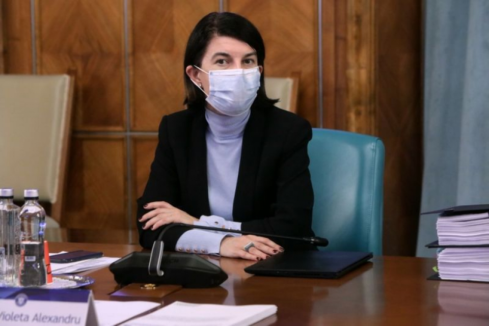 Violeta Alexandru. Foto: GOV.ro