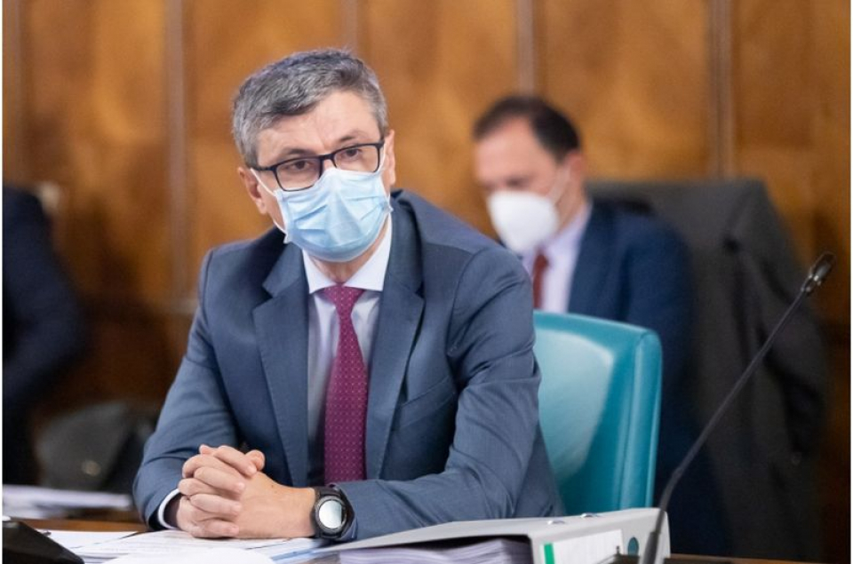 Ministrul Virgil Popescu. Foto: Gov.ro