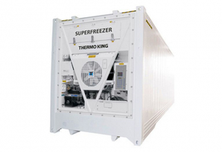 Containere superfreezer în care se transportă ton, de la Thermo King. Foto: Thermo King