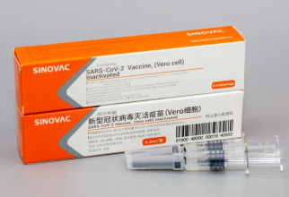Vaccin COVID-19 cinezesc. Foto: SINOVAC