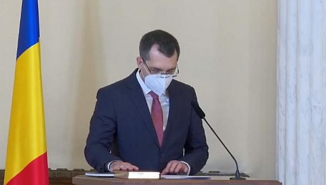 Vlad Voiculescu la Palatul Cotroceni