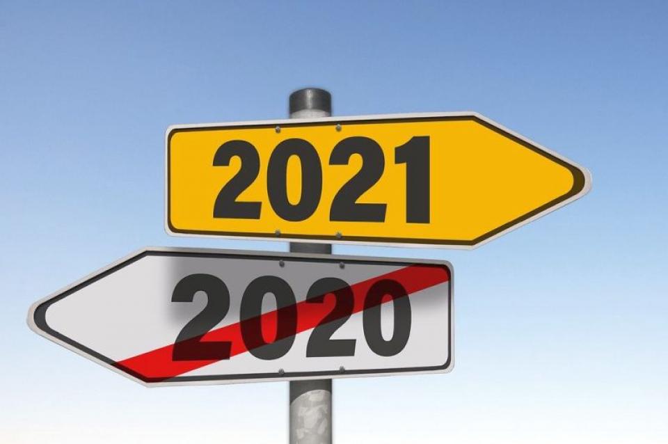 Rezoluțiile pentru 2021. Foto: Pixabay