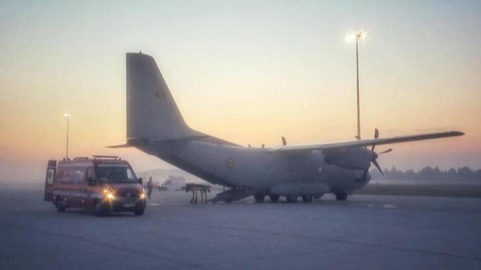 Aeronavă militară, transport  Foto: MApN