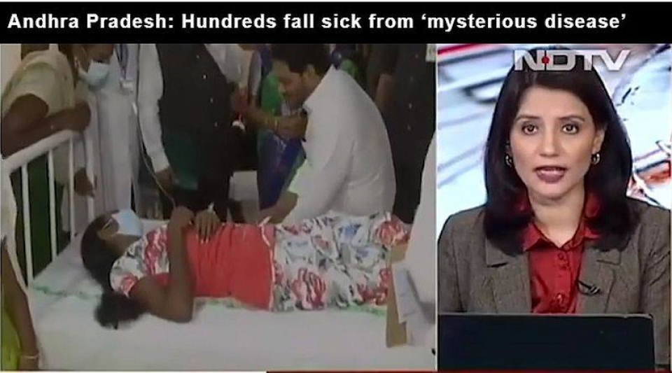 Boala misterioasă din India   Foto: print screen NDTV
