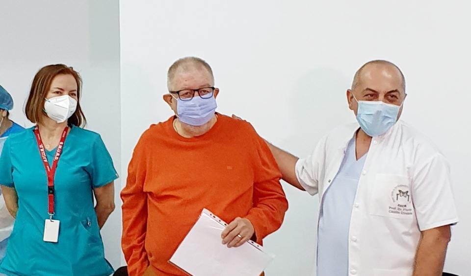 Medicul Andrei Georgescu  FOTO: SUUB