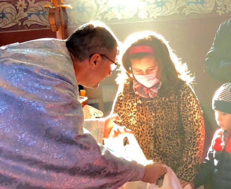 Părintele Crin-Triandafil Theodorescu. Foto: Facebook