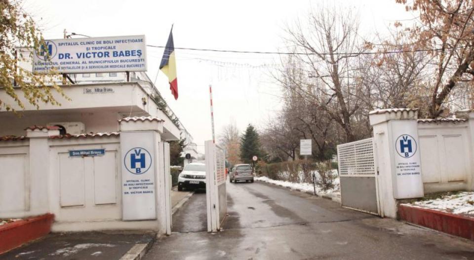 Spitalul Victor Babeș din București. Foto: ASSMB