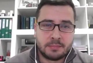 Bogdan Necoară, secretar general la Asociația Națională a Hemofilicilor din România (ANHR)