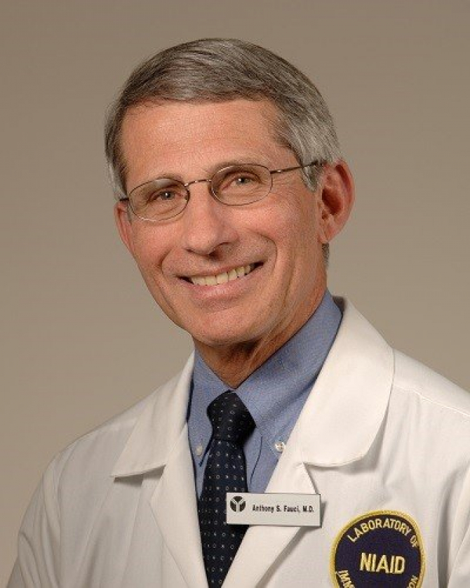 Dr Anthony Fauci. Foto: NIAID/NIH
