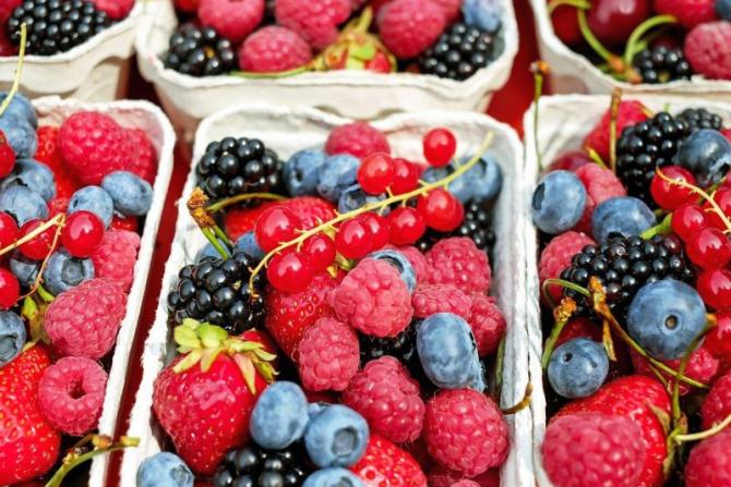 Fructe de pădure au efecte antiinflamatoare. Foto: Pixabay