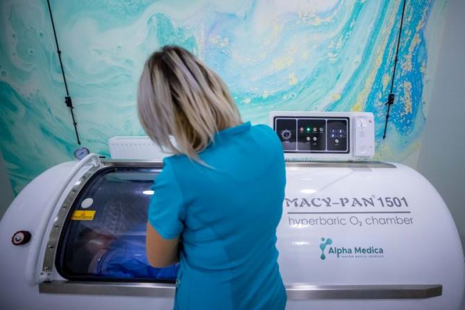 Oxigenterapia hiperbară. Foto: DC Medical