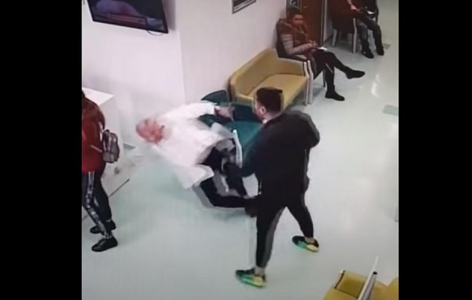 Print screen: atacul din cabinetul medicului