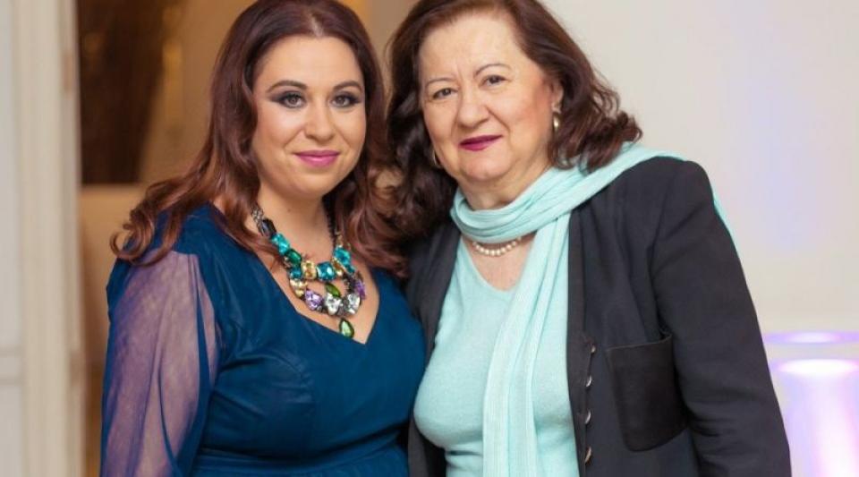 Oana și Mioara Roman. Foto: Facebook
