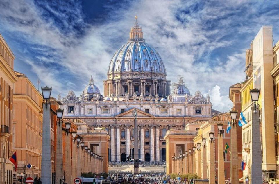 Basilica Sf Petru, Vatican. Foto: Pixabay