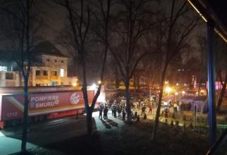 Incendiu la Marius Nasta   Foto: Antena 3