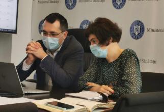 Ministrul Sănătății a discutat cu managerii de spitale  FOTO: Ministerul Sănătății