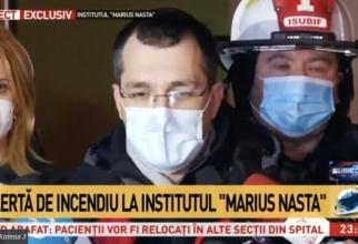 Vlad Voiculescu a făcut declarații la Marius Nasta