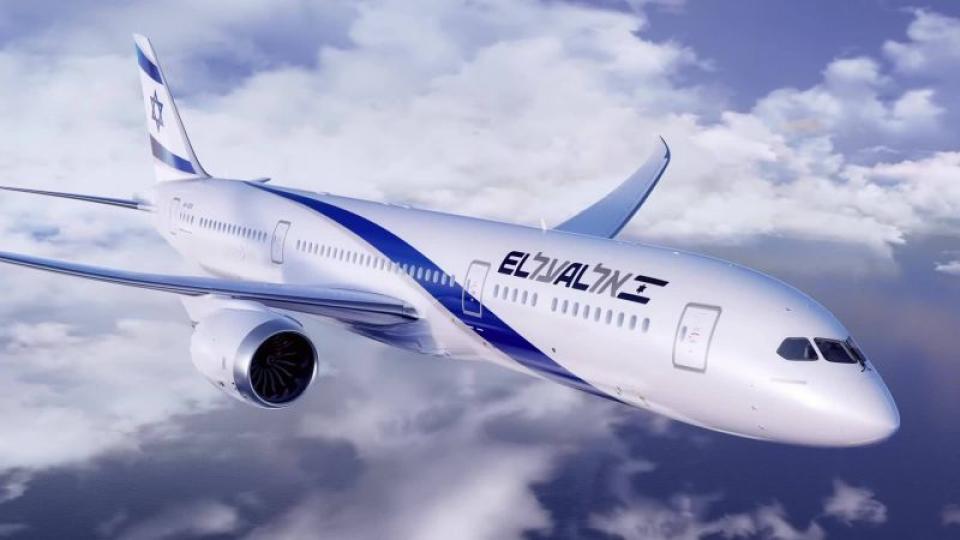 Avion El Al. Foto: Facebook