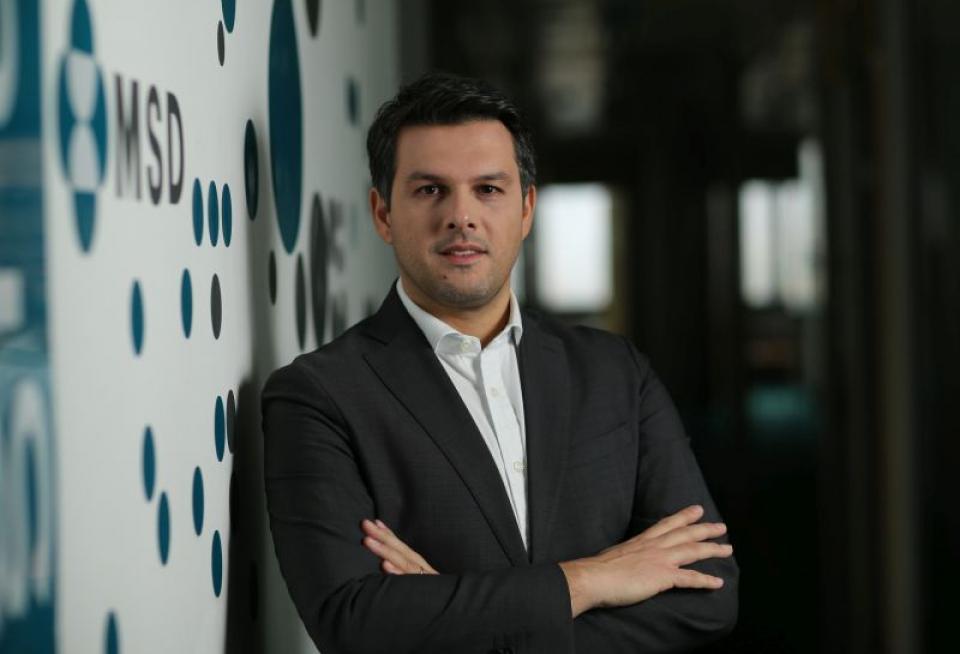Kostas Papagiannis, director general al MSD Romania