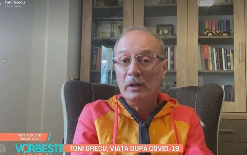 Toni Grecu. Foto: Print screen PRO TV