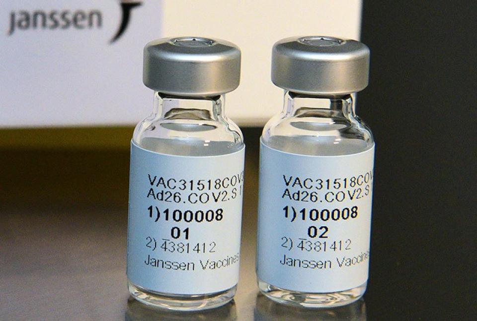 Vaccin COVID-19 de la Johnson and Johnson. Foto: Johnson and Johnson
