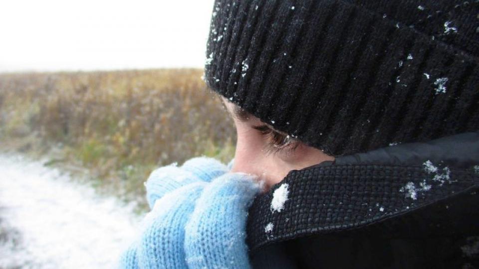 zapada, îngheț, hipotermie. Foto: Pixabay