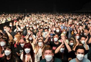5.000 de spectatori au participat la concert. Foto: L Repubblica / Facebook