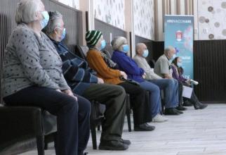 Aglomeratie la vaccinare   Sursa foto: Antena 3