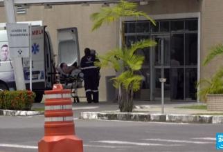 ulte cazuri cu noua tulpină braziliana în Manaus. Foto: Print screen France 24