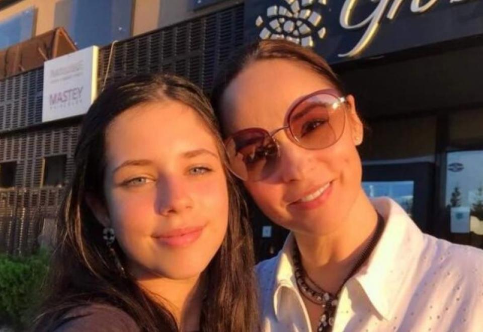 Andreea Marin și fiica ei Violeta. Foto: Instagram