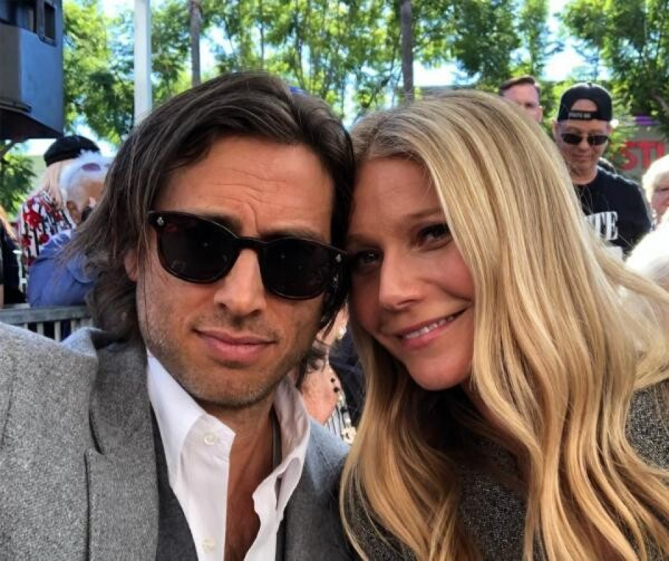 Gwyneth Paltrow și Brad Falchuk  Foto: Instagram