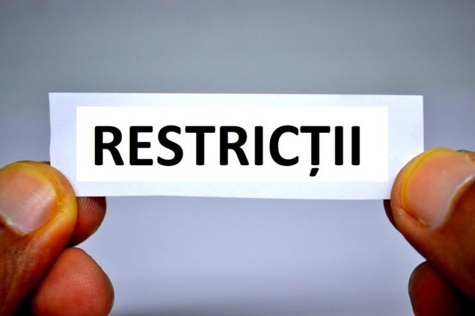 Restrictii. Foto: Pixabay