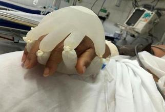 """""""Mâna lui Dumnezeu"""". Foto: Sadiq 'Sameer' Bhat / Twitter"""