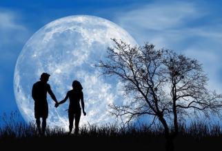 Luna plină. Foto: Pixabay