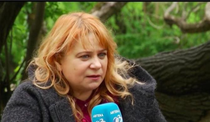 Actrița Anca Sigartău   Sursa foto: Antena 3